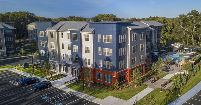 CBRE finances acquisition of 157 units in Walpole, Massachusetts