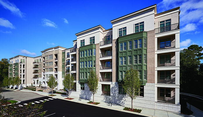 Grubb Ventures, Stiles sell luxury multifamily development The Carolinian in Raleigh, North Carolina