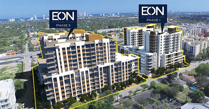 JLL arranges $127.5M financing for EON at Flagler Village