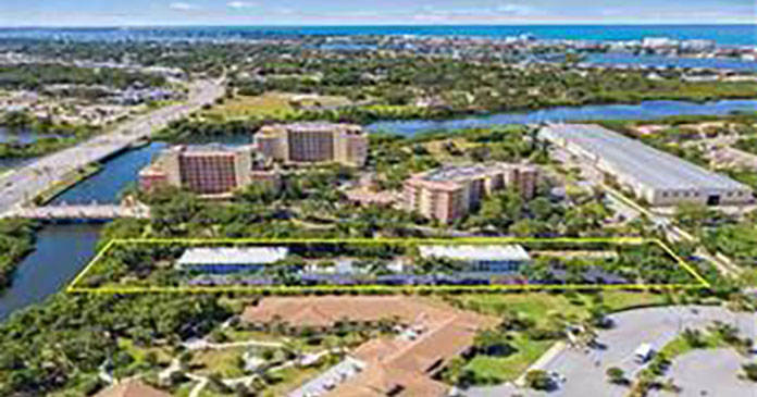 Marcus & Millichap arranges the sale of a 28-unit apartment building in Sarasota, Florida