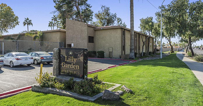 Tower 16 Capital Partners acquires Lilly Garden Apartments, its first multifamily project in Phoenix, for $11.7 million