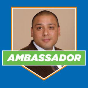 Headshot of Ambassador Angel Davila